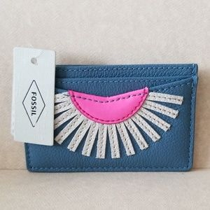 FOSSIL CARD & ID HOLDER